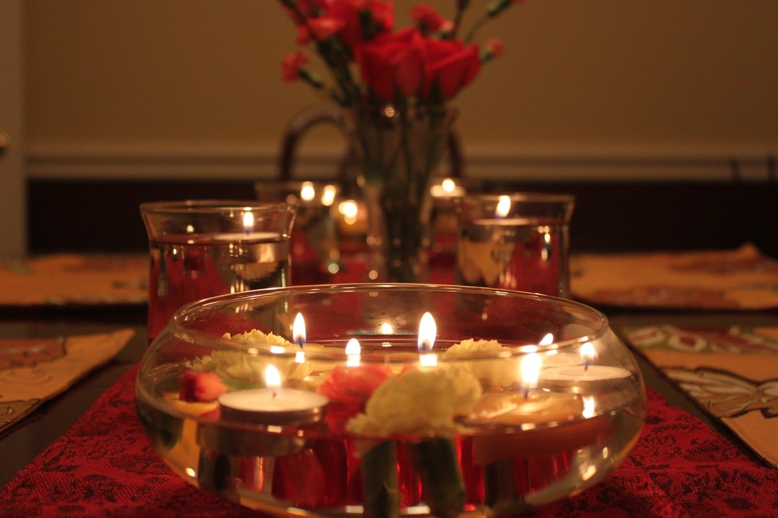 10 gorgeous romantic dinner at home ideas