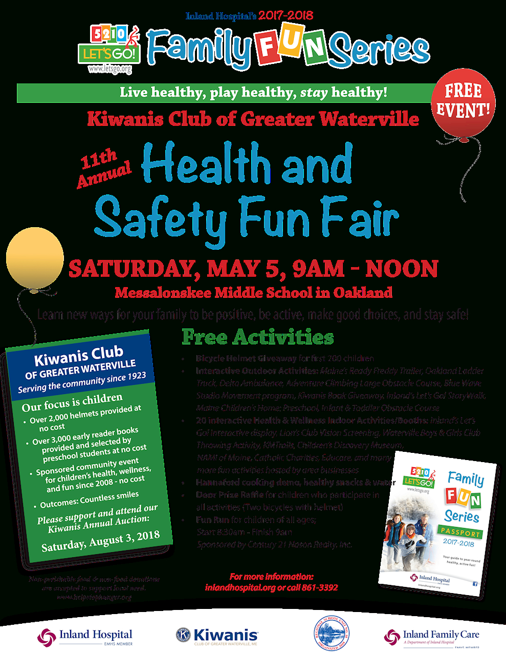 10 Cute Health And Safety Fair Ideas greater waterville kiwanis international 2021