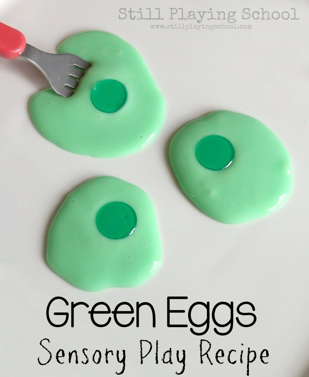 green eggs sensory play | still playing school