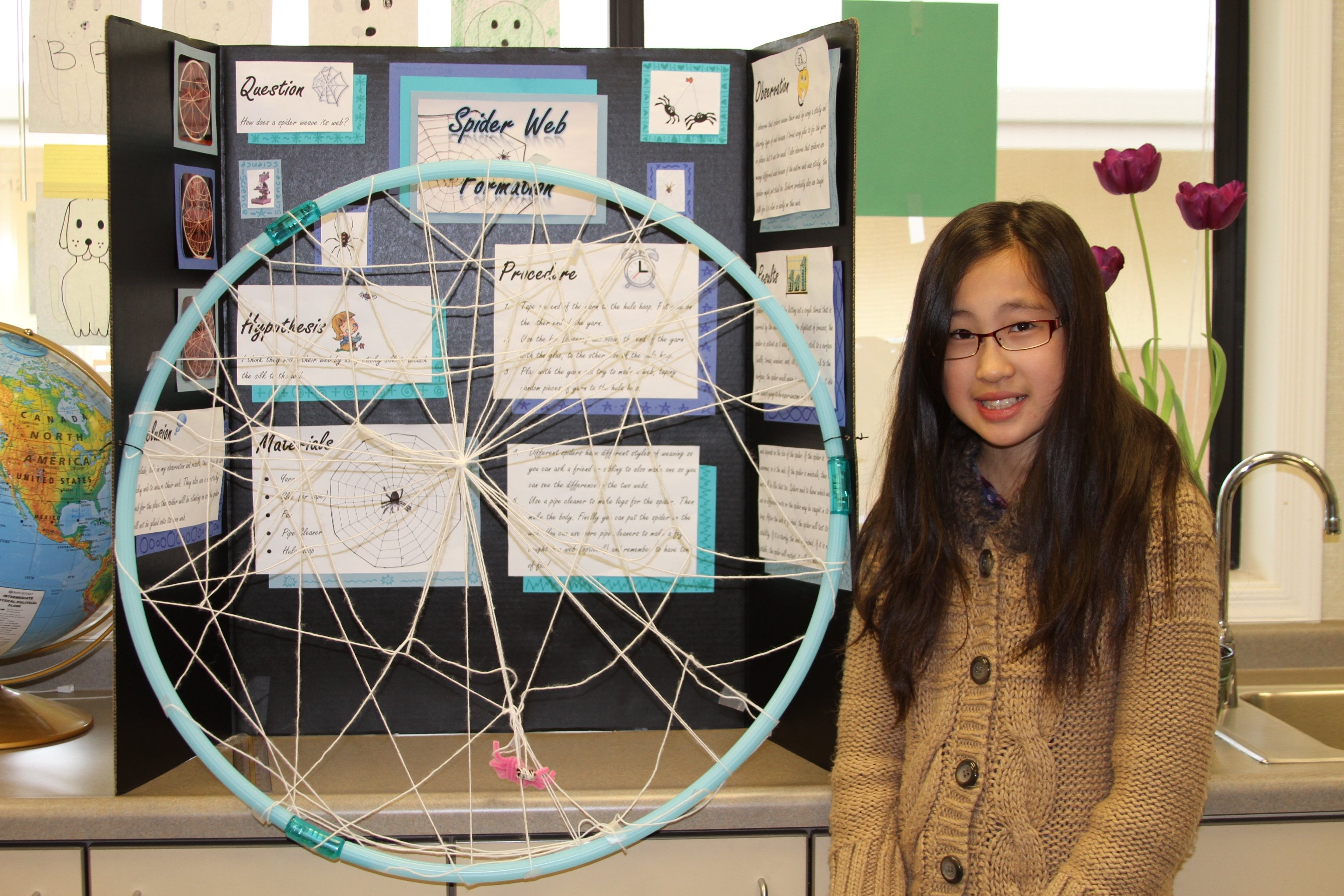 green elementary school science fair inspires student scientists