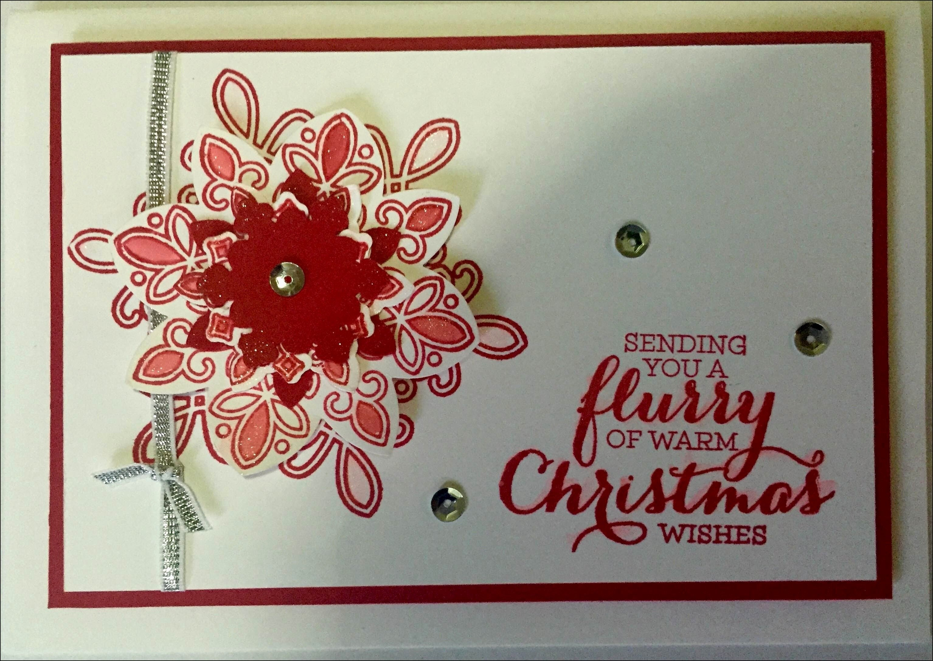 10 Beautiful Stampin Up Christmas Card Ideas greeting card stampin up christmas card ideas luxury flurry of 2021