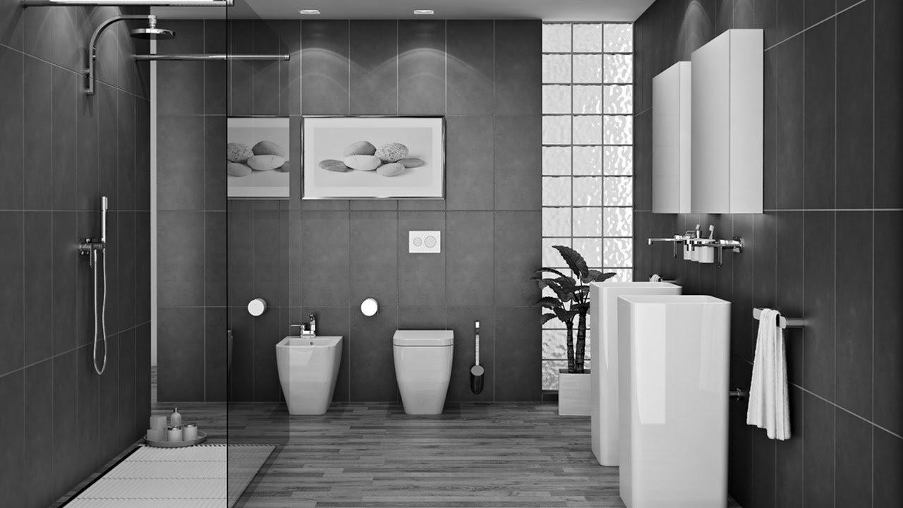 10 Lovable Gray And White Bathroom Ideas grey bathrooms decorating ideas youtube 2020