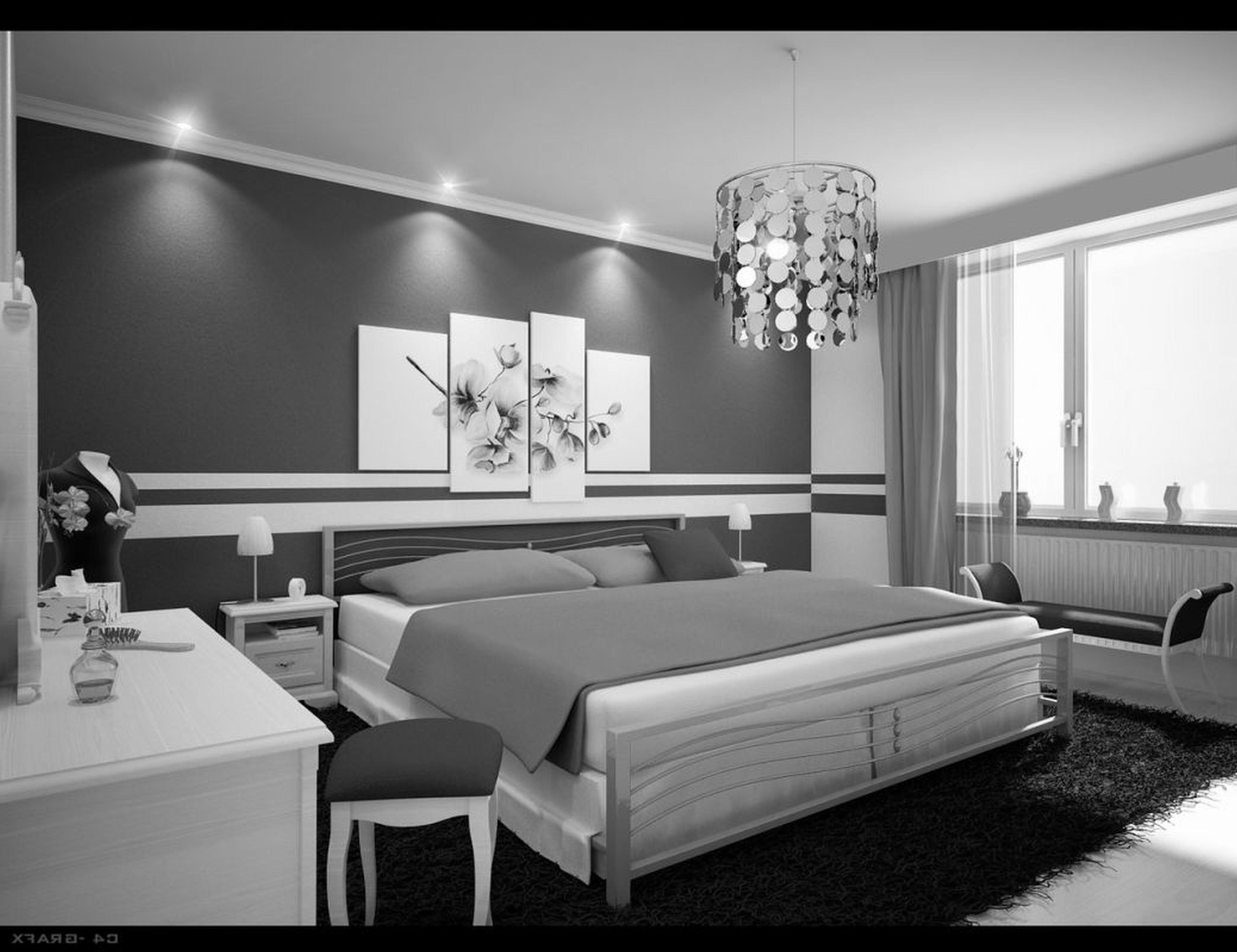 grey bedroom decor best of black white together with outstanding