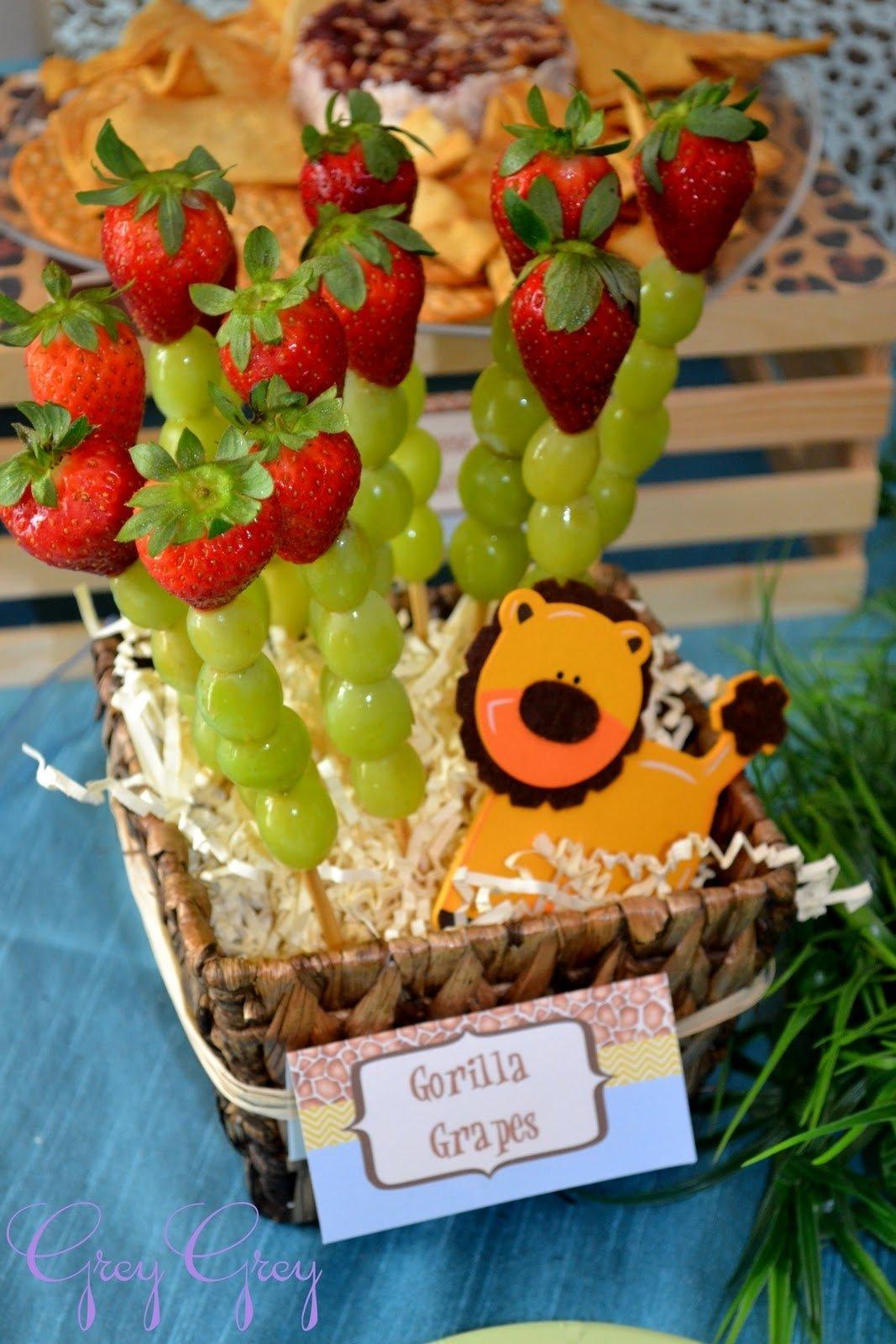 10 Spectacular Animal Themed Birthday Party Ideas greygrey designs my parties bretts jungle safari 1st birthday party