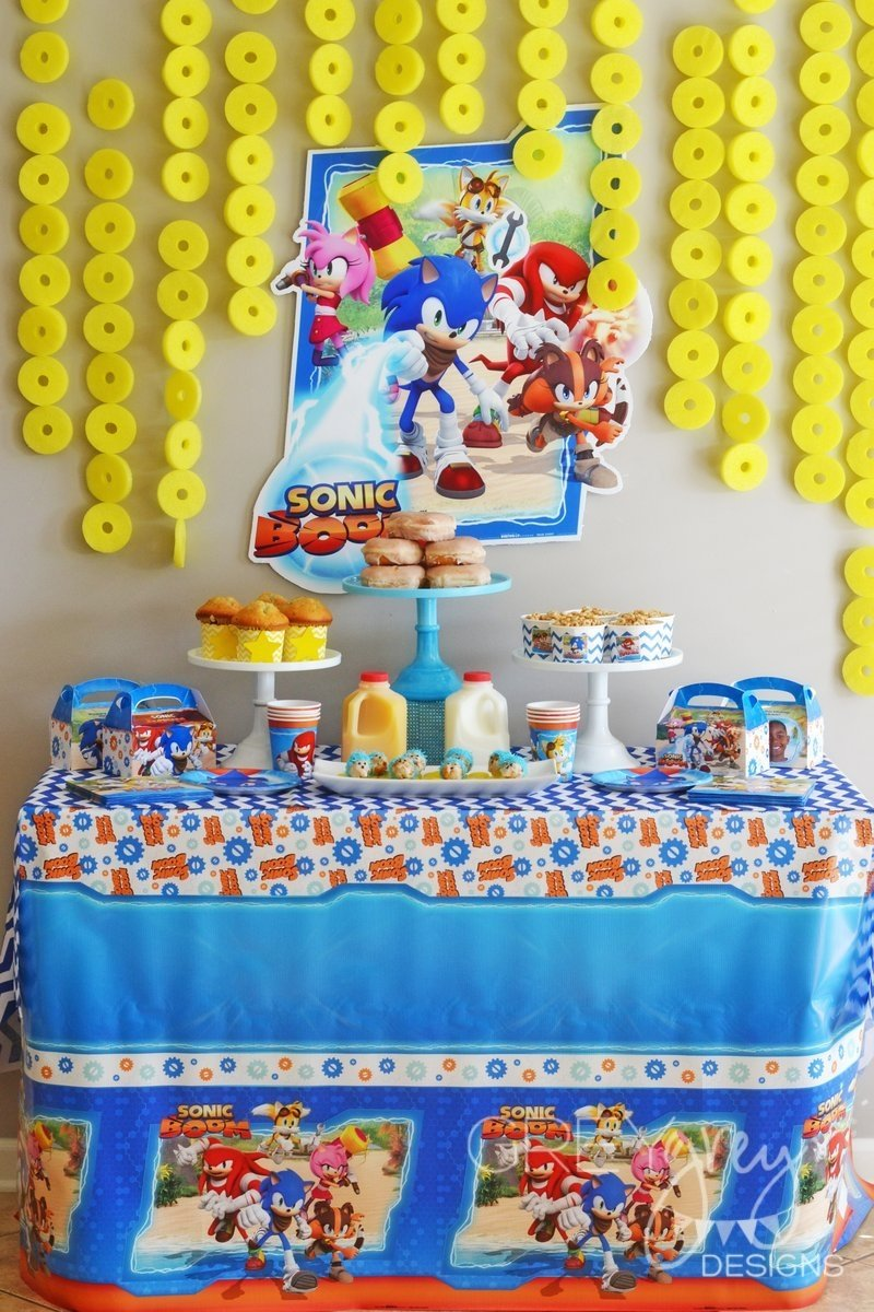 10 Great Sonic The Hedgehog Birthday Party Ideas greygrey designs my parties sonic the hedgehog birthday brunch 2021