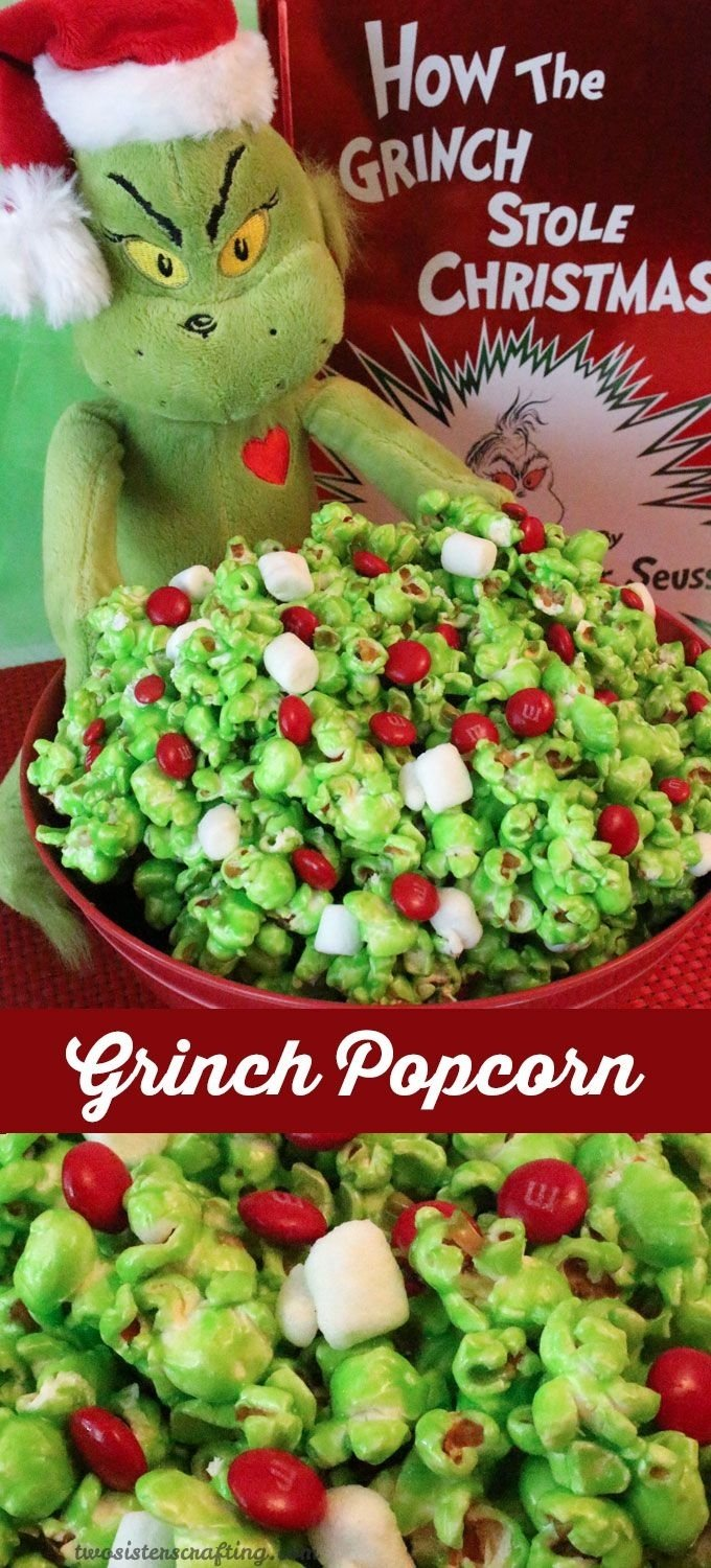 10 Unique Office Christmas Party Food Ideas grinch popcorn recipe grinch stole christmas family movies and