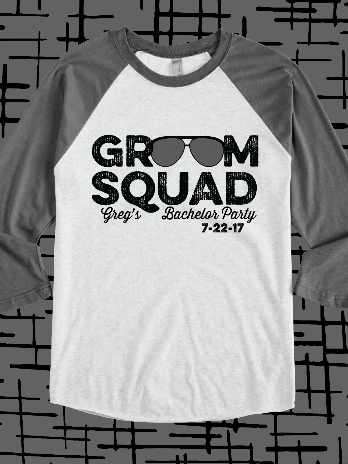 10 Ideal Bachelor Party T Shirt Ideas groom squad design idea for custom bachelor party t shirts raglans 2020