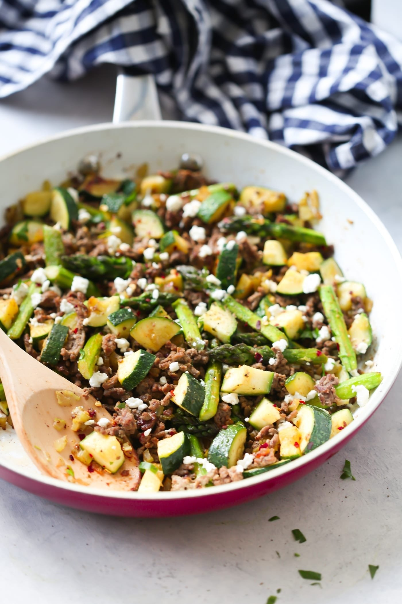 10 Cute Ideas For Dinner With Ground Beef ground beef veggie skillet recipe primavera kitchen 4 2021