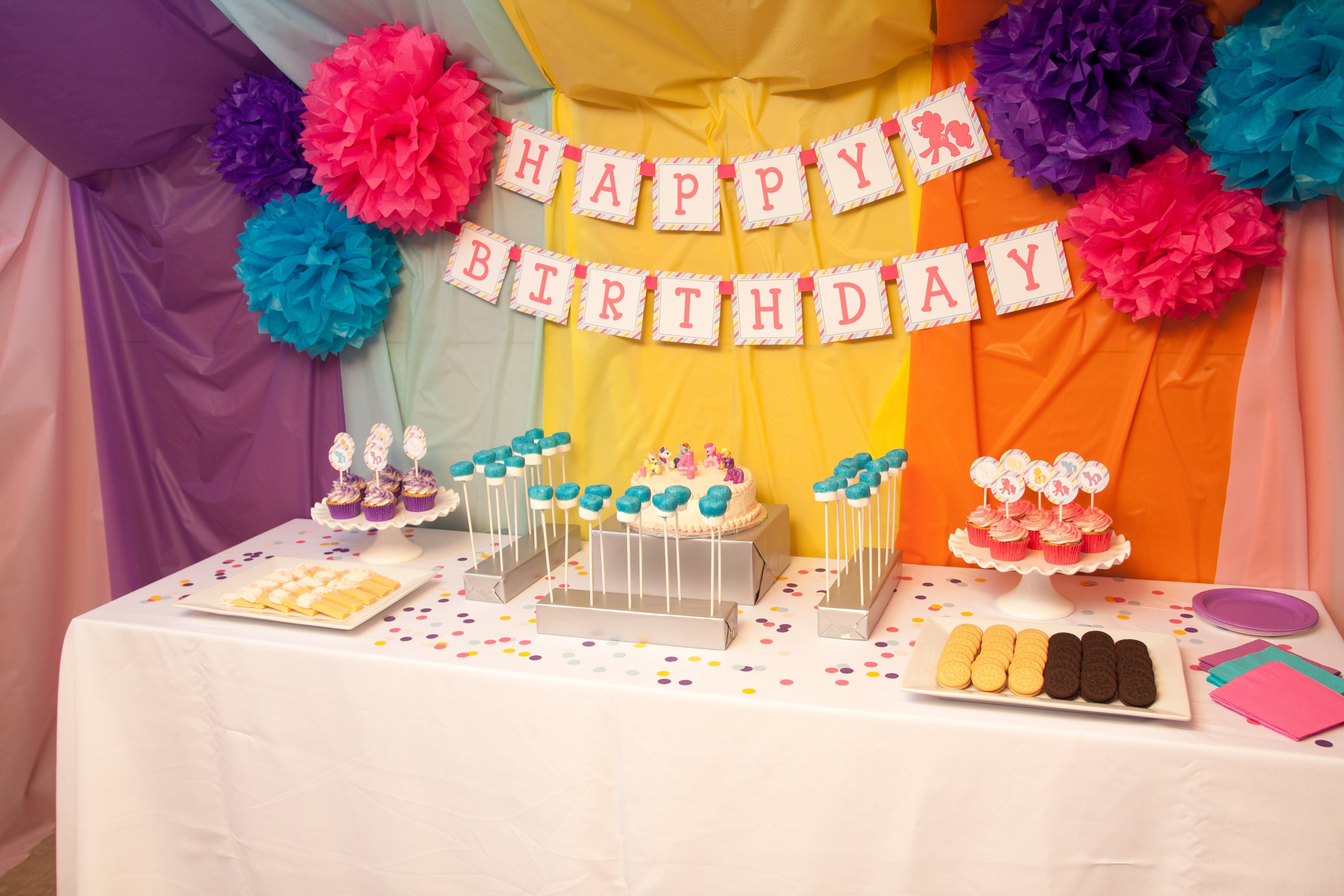 10 Stylish My Little Pony Party Ideas guest party my little pony fourth birthday party 2020