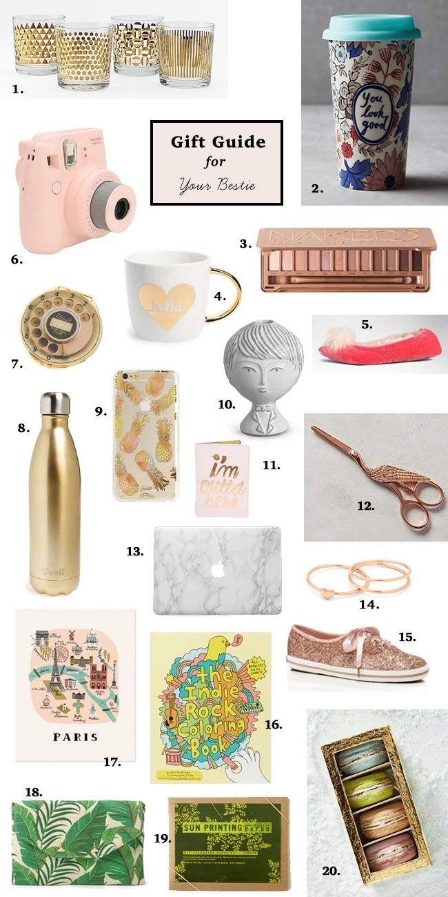 10 Unique Gift Ideas For Your Girlfriend gws gift guide for your bestie gift guide her pinterest gift 3