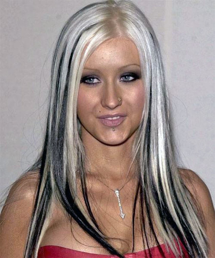 10 Best Blonde And Black Hair Color Ideas hair color black with blonde streaks style inofashionstyle 1 2020