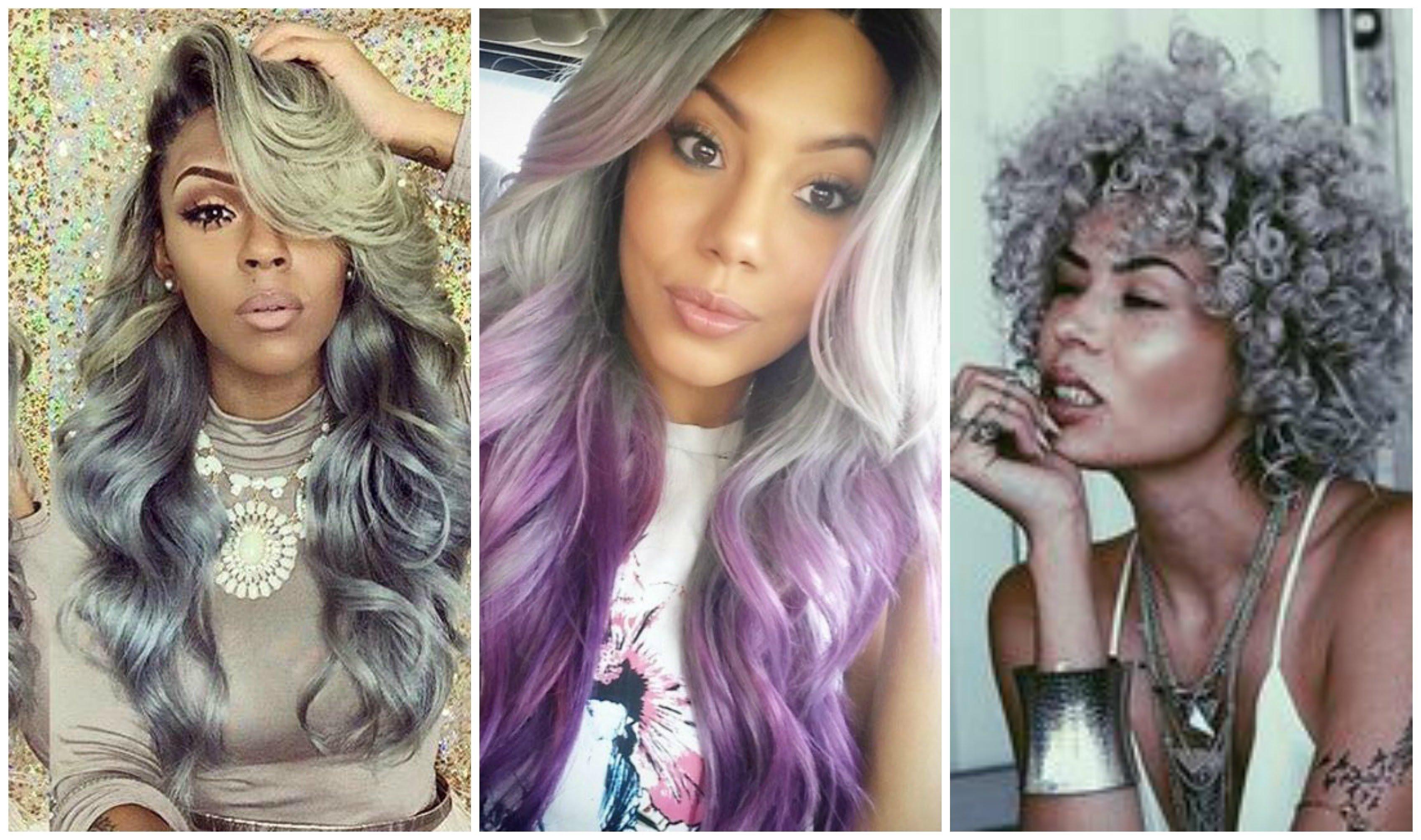 10 Great Hair Color Ideas For African American Hair hair color ideas for african american women new grey haircolor ideas 2020
