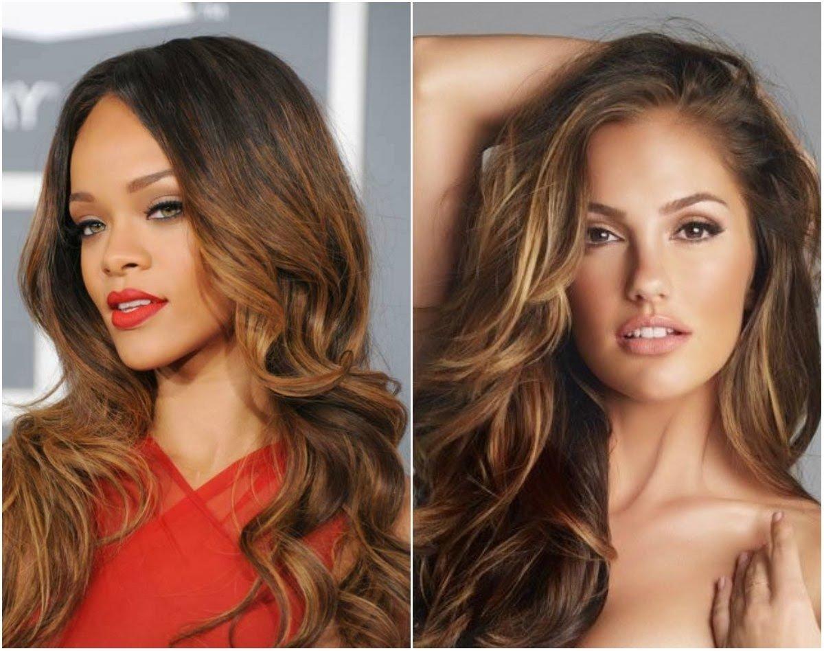 10 Most Popular Hair Color Ideas Dark Skin hair color ideas for brown skin women women medium haircut 2021
