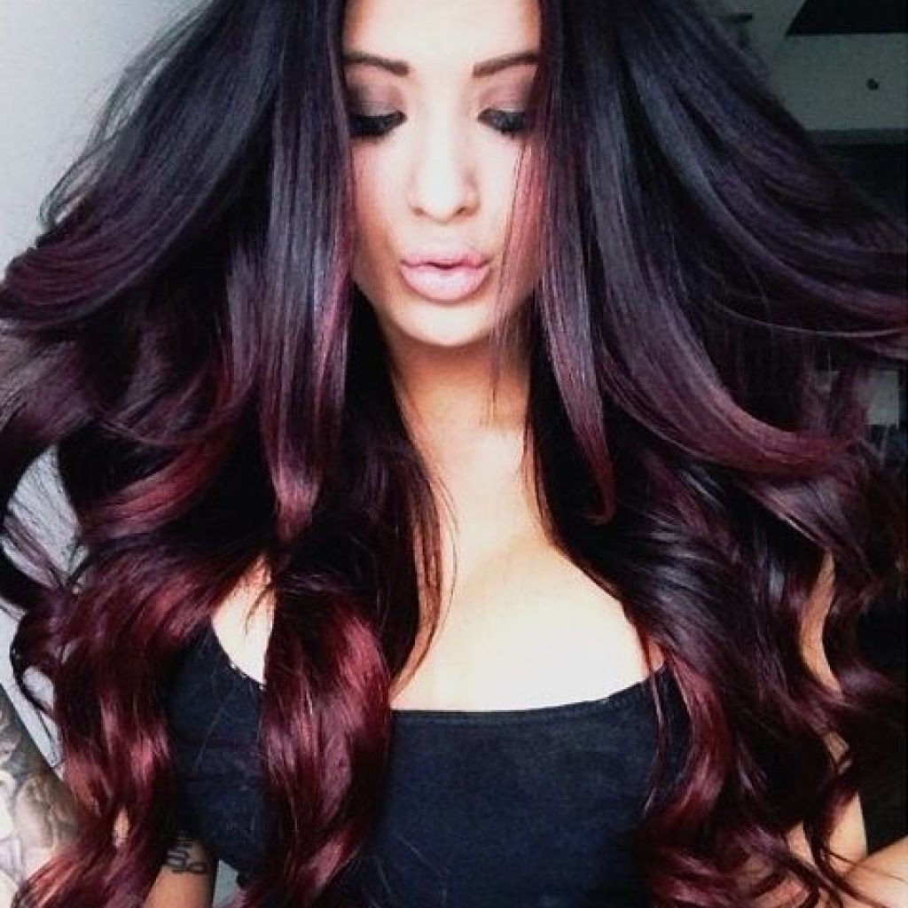 10 Perfect Funky Hair Color Ideas For Brunettes hair color ideas for brunettes women medium haircut 2021