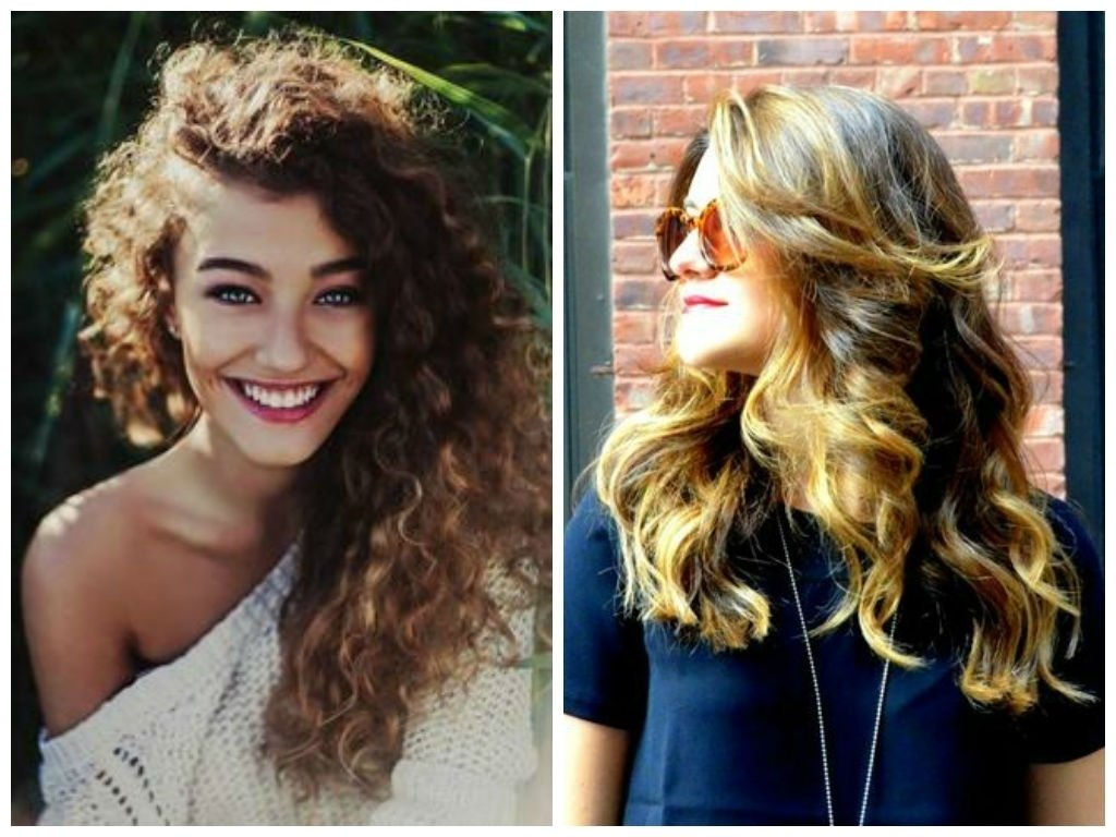 10 Perfect Funky Hair Color Ideas For Brunettes hair color ideas for curly hair women medium haircut 2021
