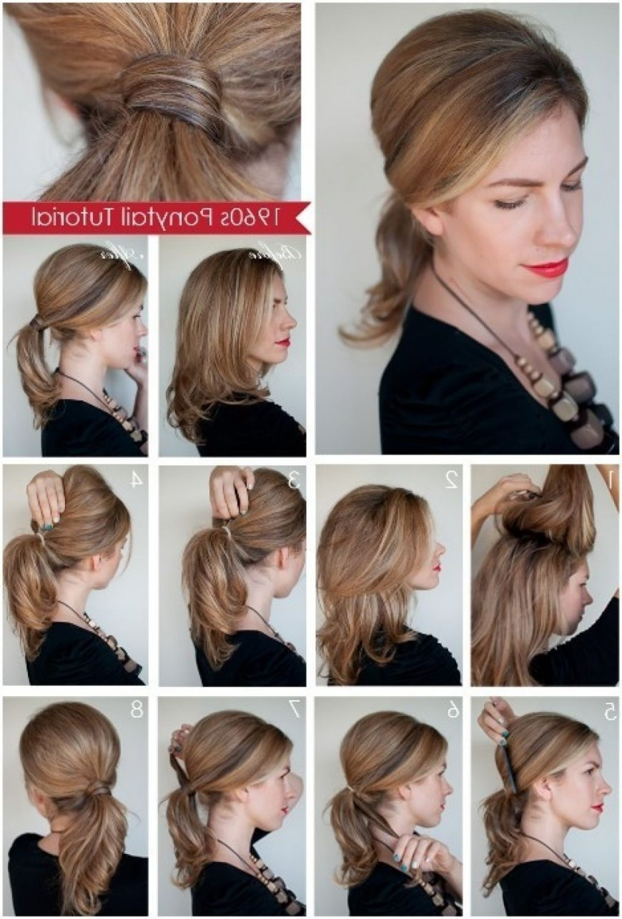 hairstyle for short hair ponytails cute long hair ponytail ideas