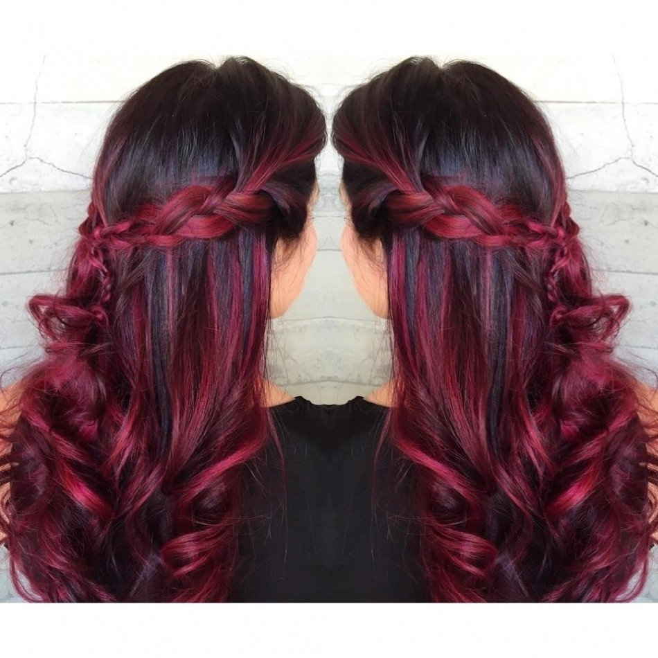 10 Amazing Black And Red Hair Ideas