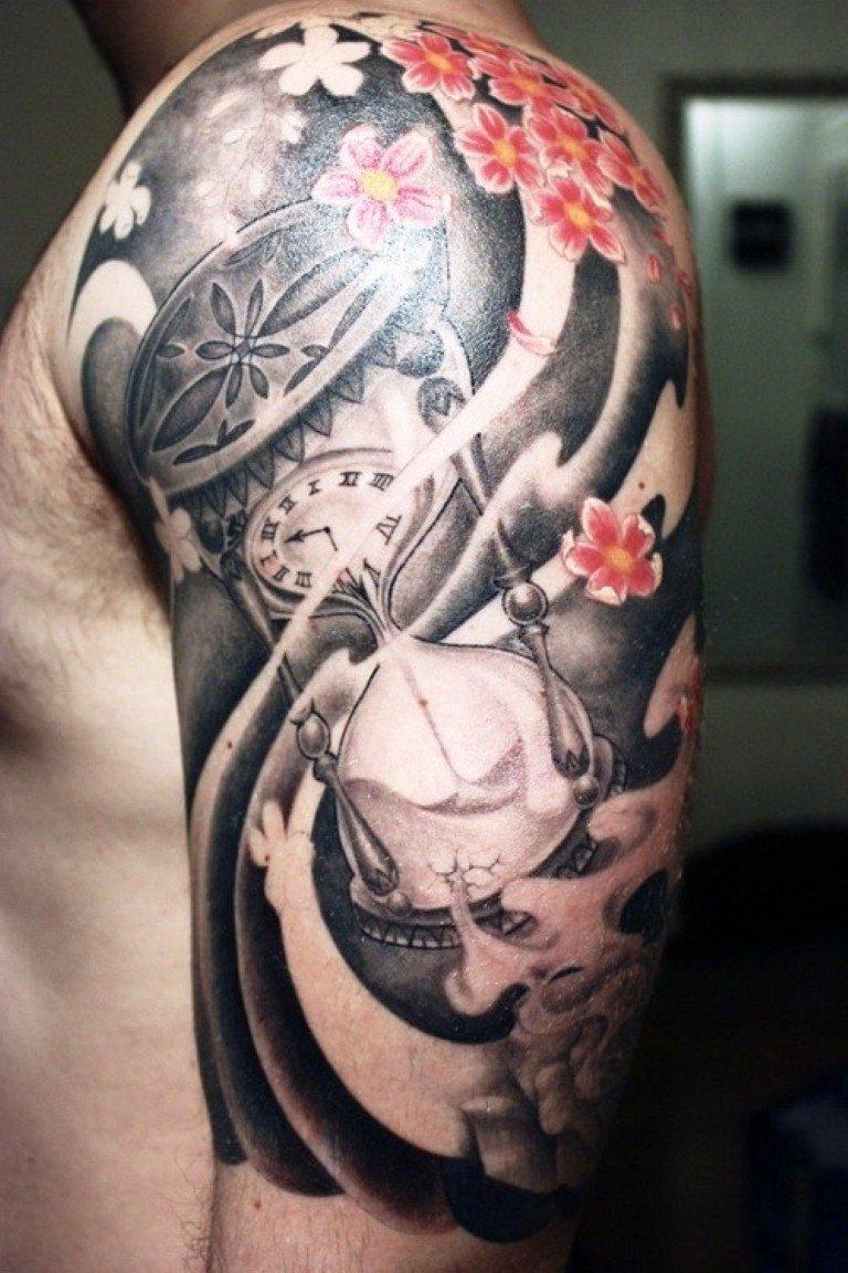 10 Ideal Arm Sleeve Tattoo Ideas For Guys half sleeve tattoos for men tattoo pinterest tattoo tatting 4