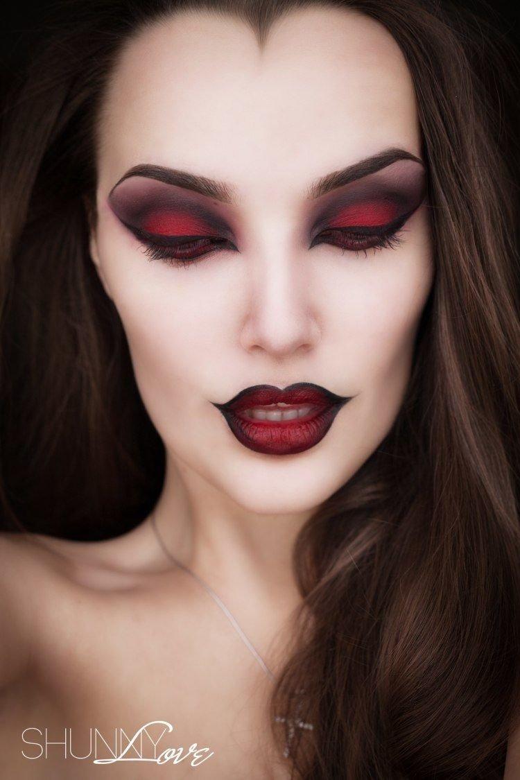 10 Fashionable Face Makeup Ideas For Halloween halloween and horror makeup ideas part 4 girly design blog 2021