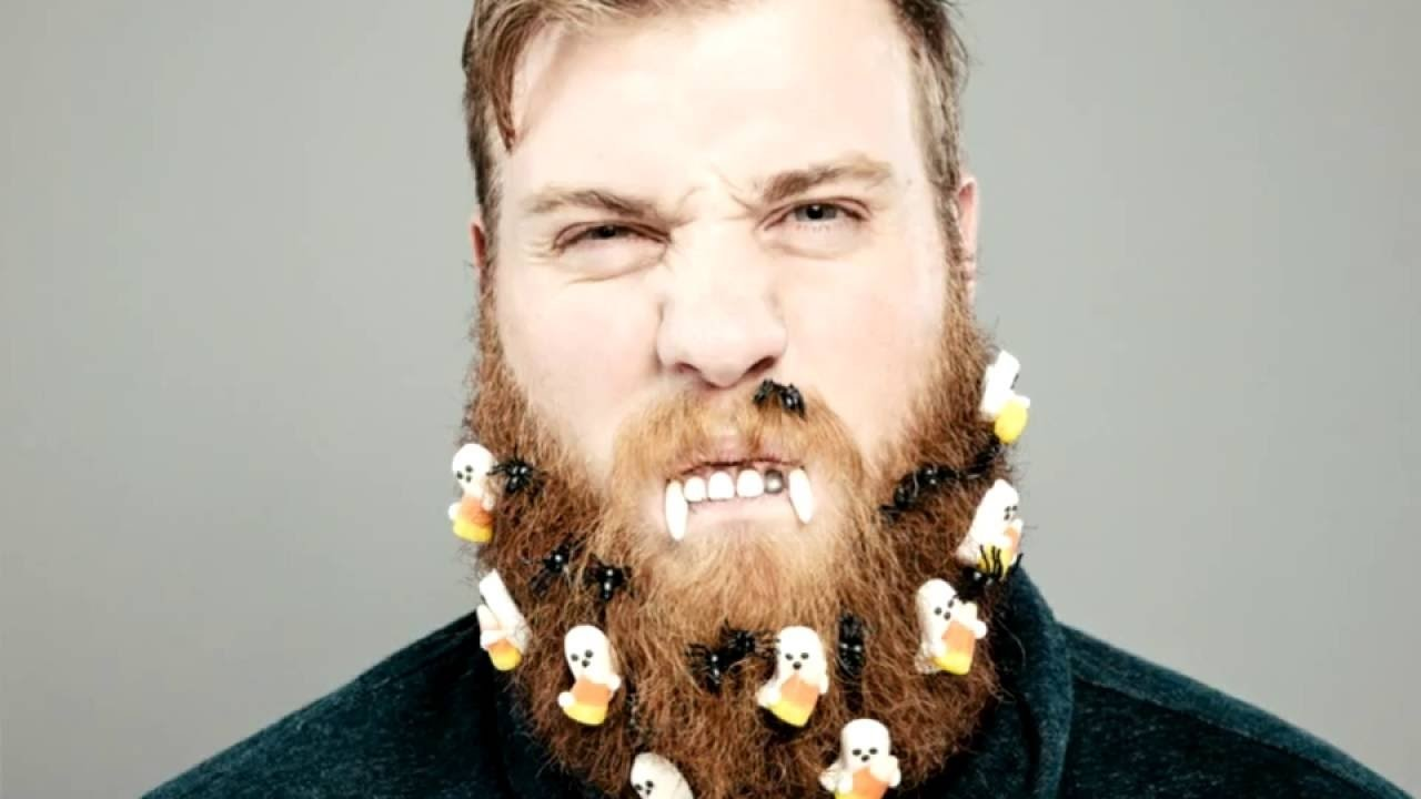 halloween beard ideas for dudes with beards - youtube