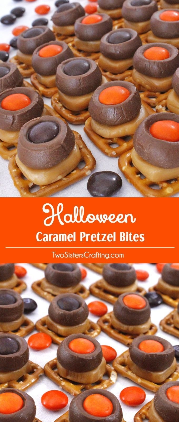 10 Unique Halloween Food Ideas For Adults Easy halloween caramel pretzel bites mariee tuto et soiree 2021