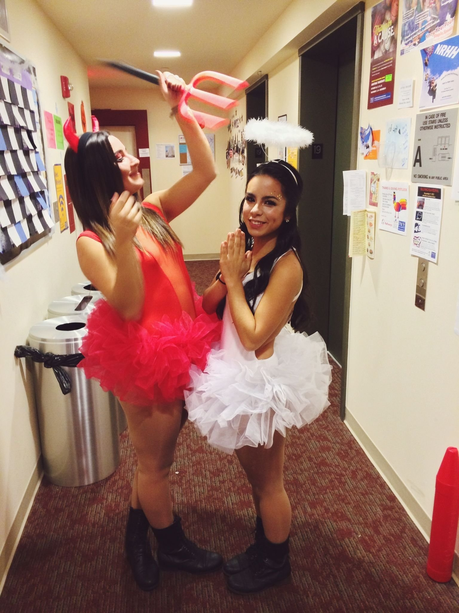 10 Awesome Heaven And Hell Costume Ideas halloween costume angel devil college pinterest halloween 2020
