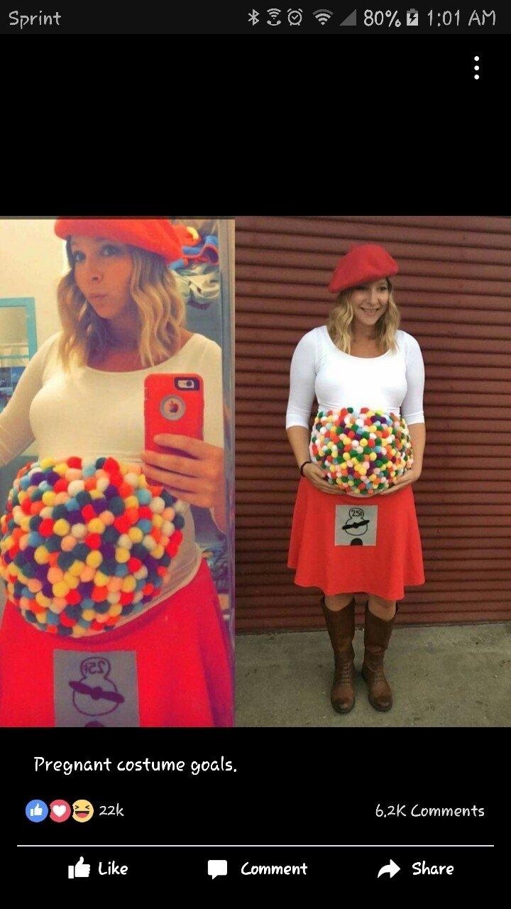 10 Wonderful Costume Ideas For Pregnant Women halloween costume idea for pregnant woman halloween pinterest 2021