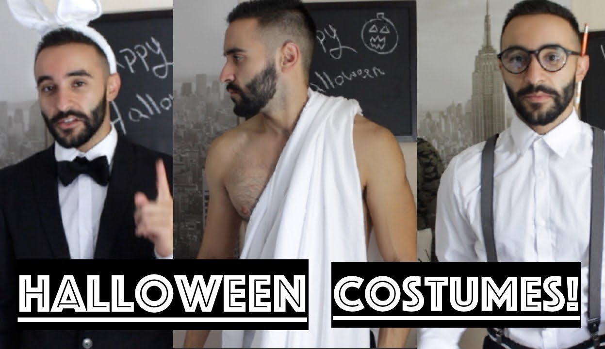 halloween costume ideas for guys for cheap! - youtube