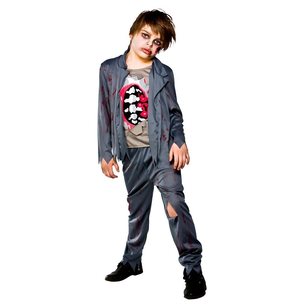 10 Attractive Zombie Costume Ideas For Kids halloween costume ideas for kids i unique halloween kid zombie 1 2021