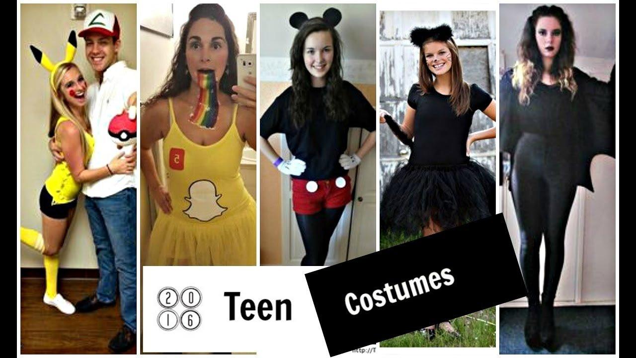10 Nice Halloween Costume Ideas For Teenage Girls halloween costume ideas for teen girls youtube 3 2021