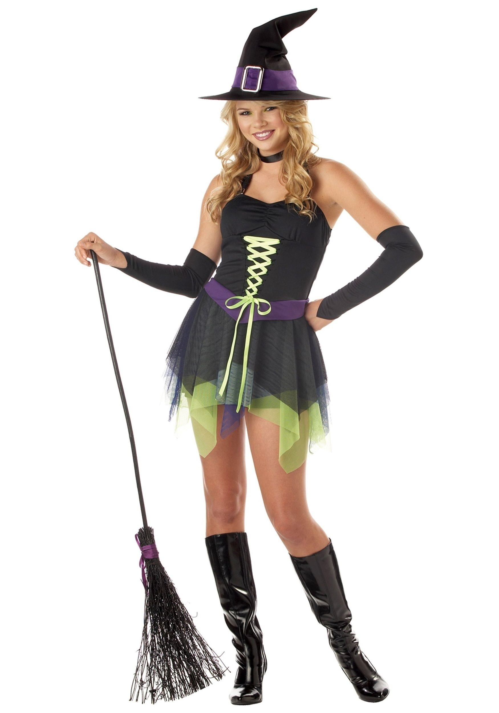 10 Wonderful Witch Costume Ideas For Women halloween costume ideas witch costumes teenage whimsical witch 2020