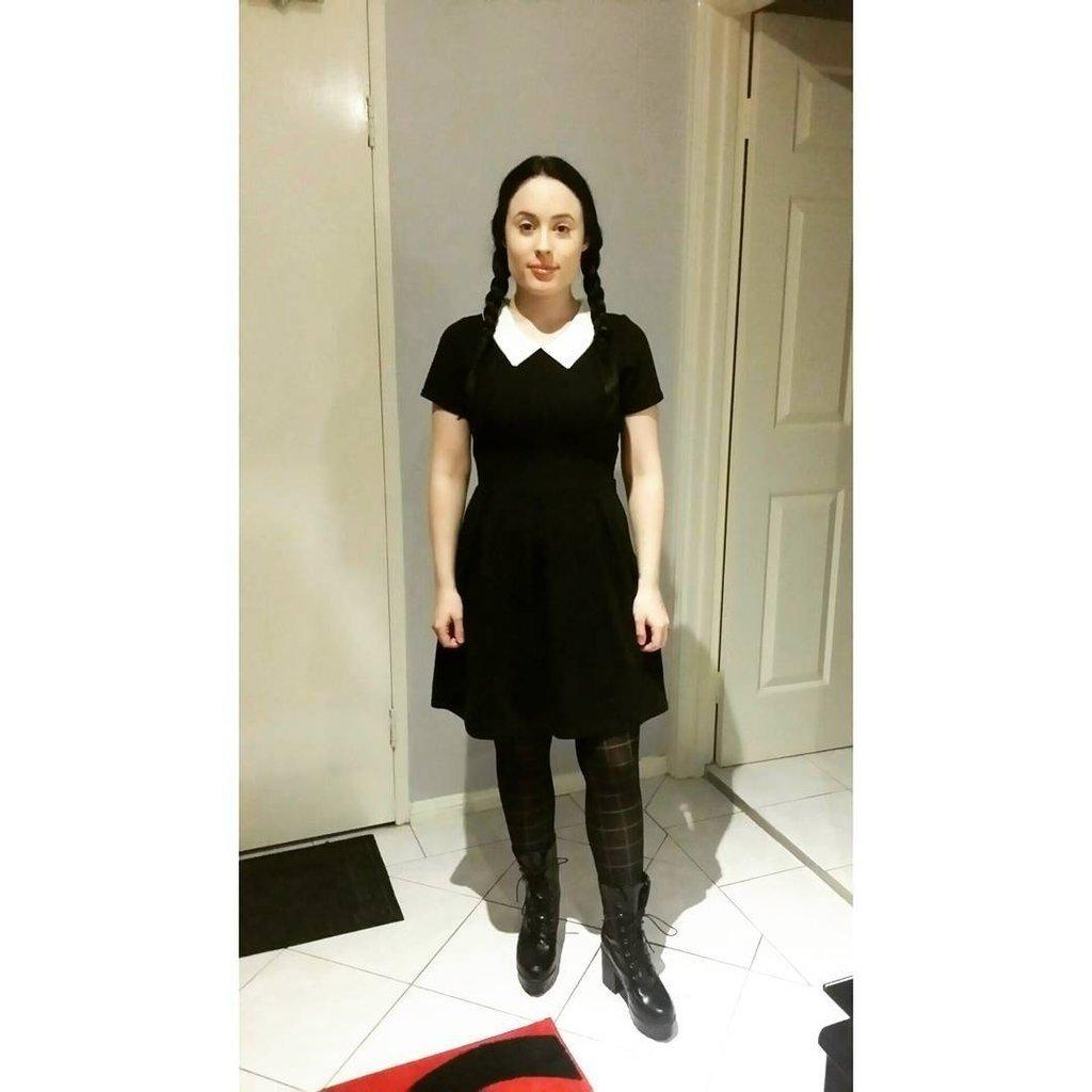 10 Attractive Little Black Dress Costume Ideas halloween costume ideas with a black dress popsugar fashion 2 2020