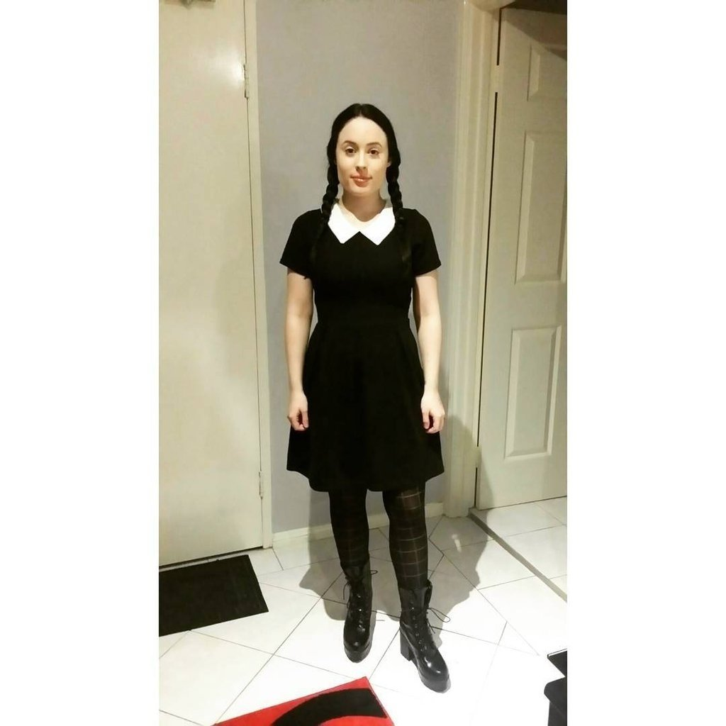 10 Ideal Easy Costume Ideas For Women halloween costume ideas with a black dress popsugar fashion 2020
