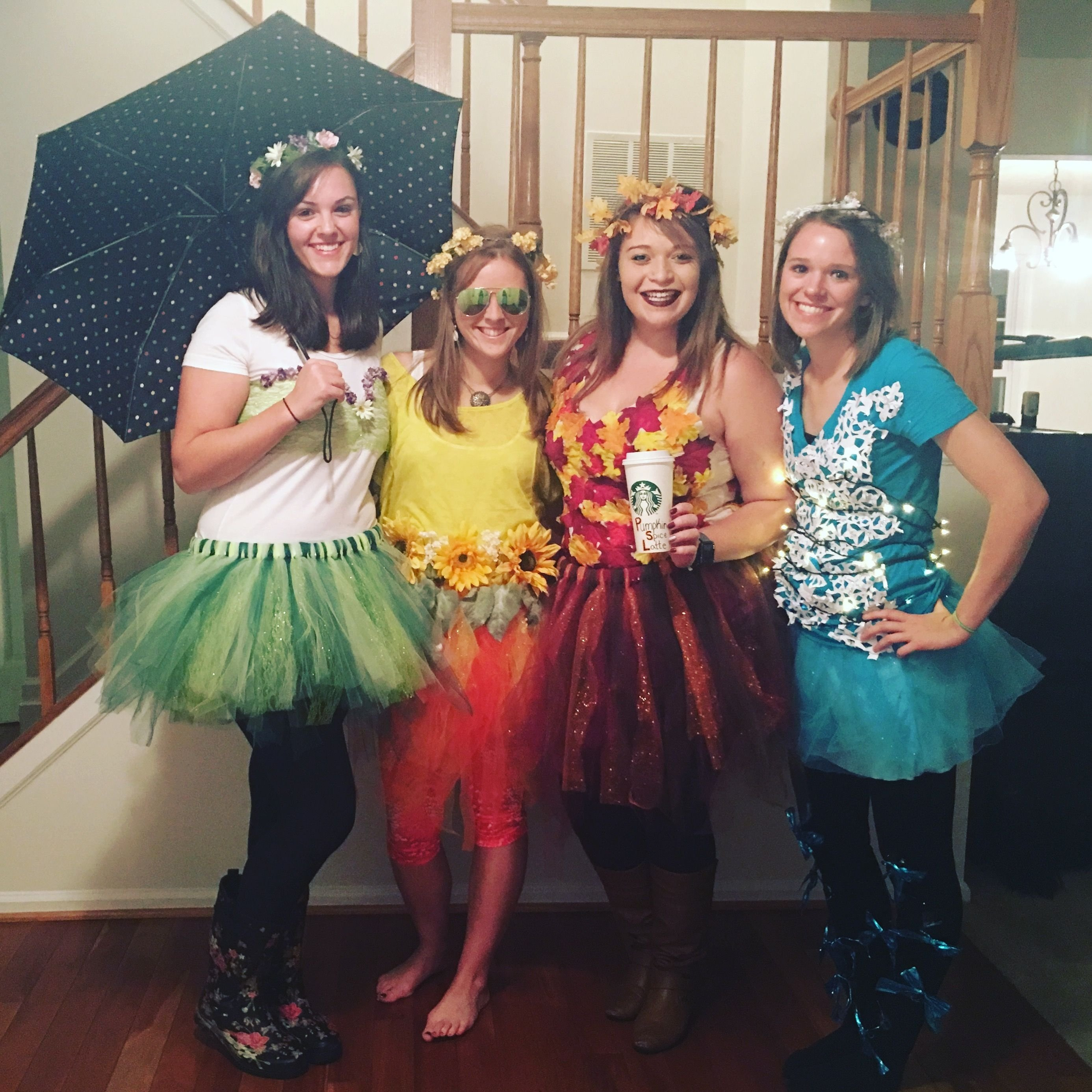 10 Famous Costume Ideas For Four People halloween costume the four seasons 2016 creative four people