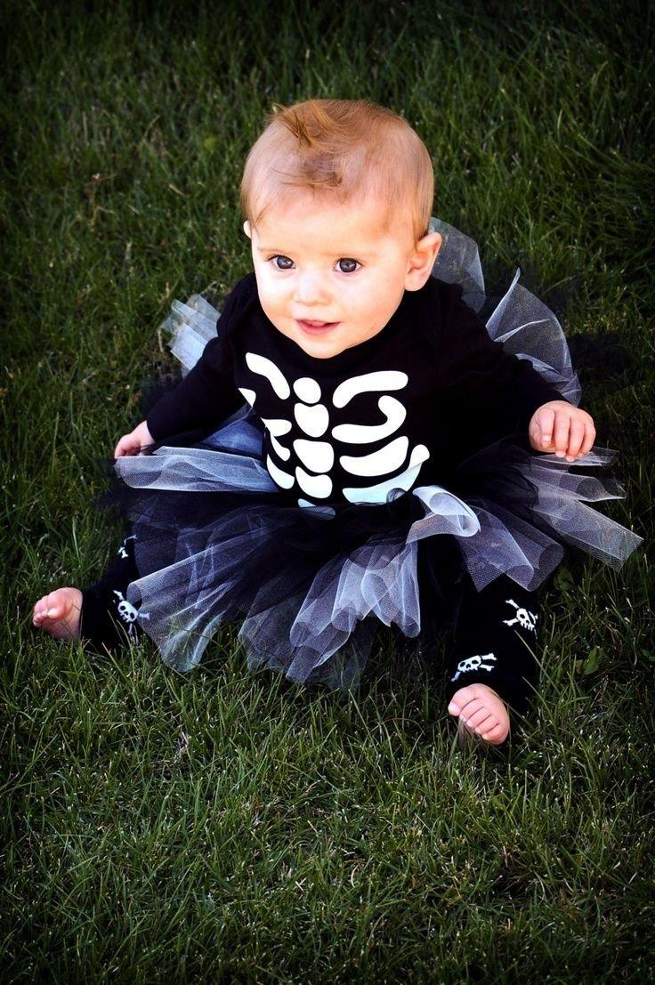 10 Nice Cute Baby Halloween Costume Ideas halloween costumes for kids baby girl skeleton costume halloween