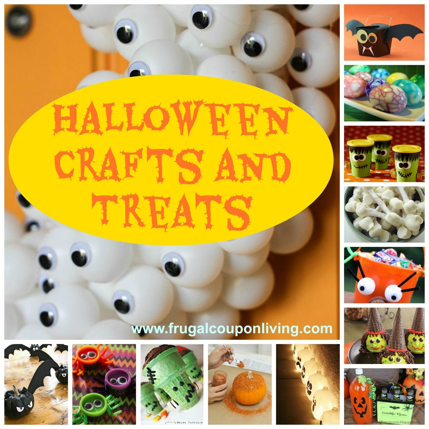 halloween craft treat ideas | fun for the kids and adults - pin now!
