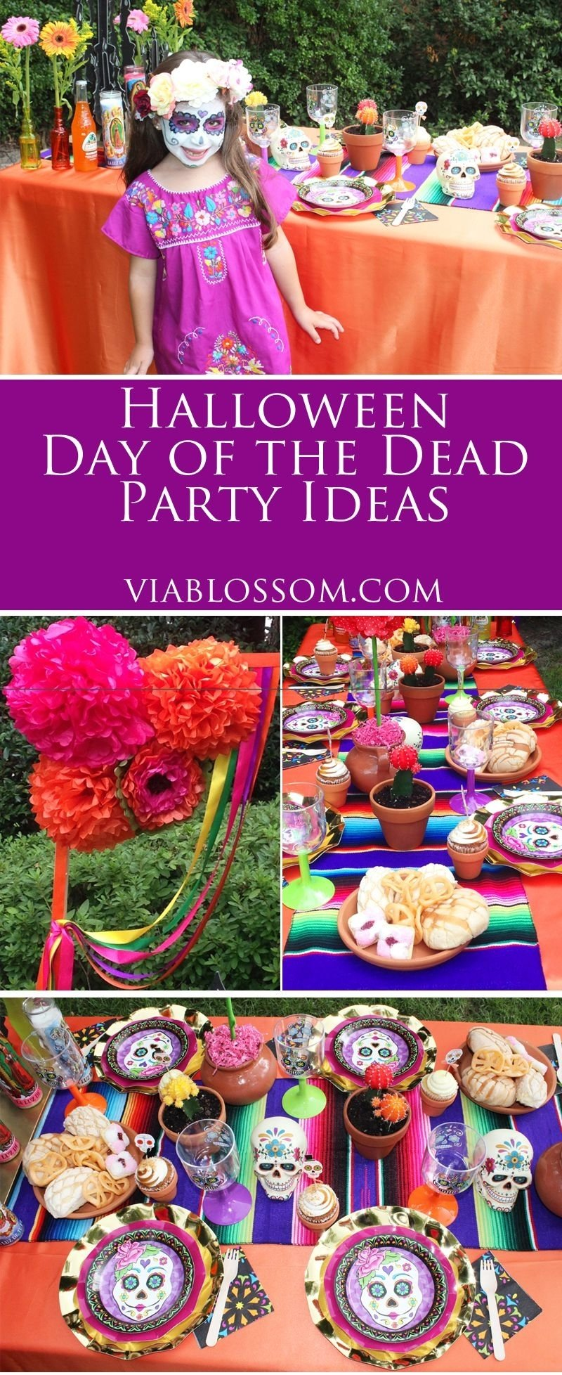 10 Fabulous Day Of The Dead Party Ideas halloween day of the dead party decoration blog and birthdays 2021