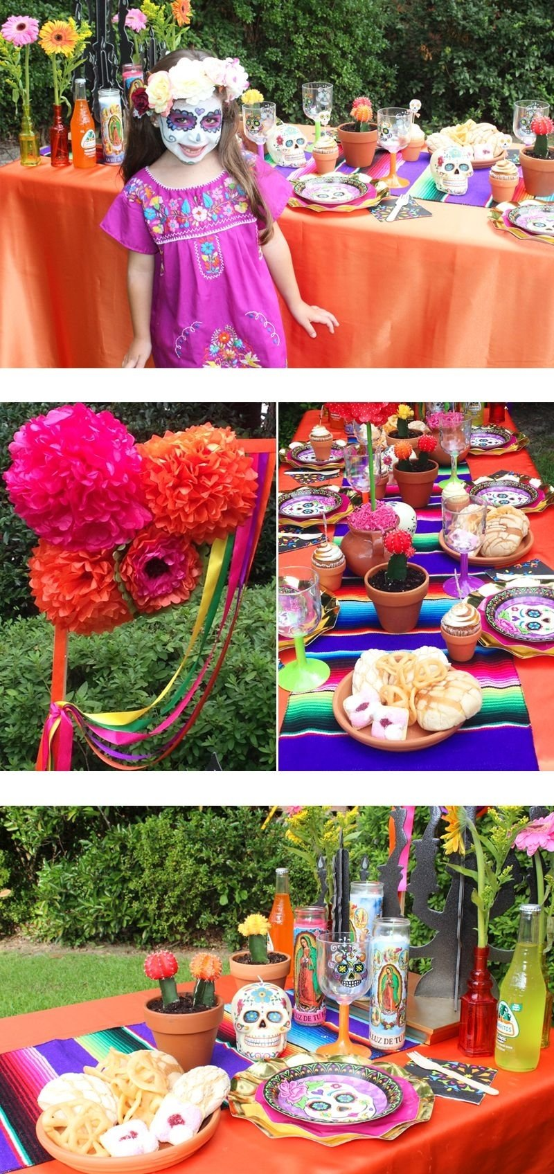 halloween day of the dead party | halloween parties, decoration and blog