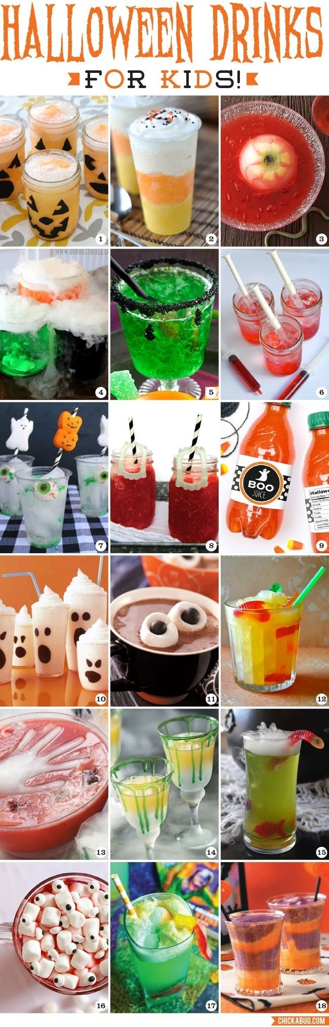 10 Amazing Halloween Drink Ideas For Kids halloween drinks for kids halloween parties easy and recipes 2021