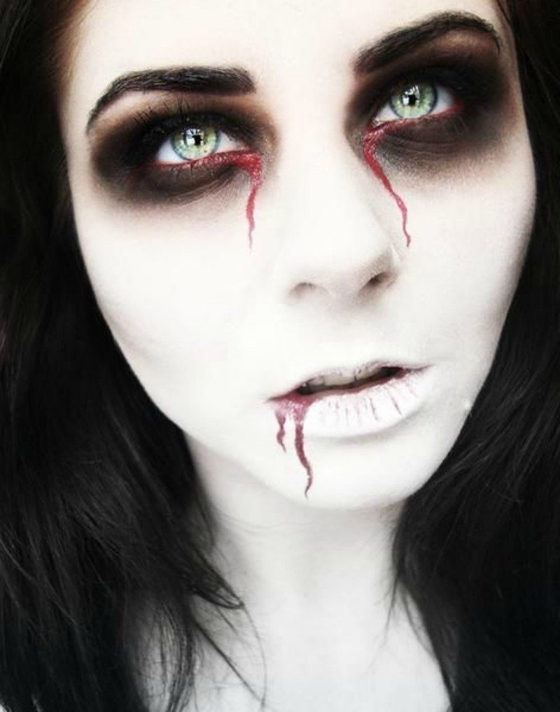 10 Fashionable Face Makeup Ideas For Halloween halloween face makeup ideas face makeup ideas 2021