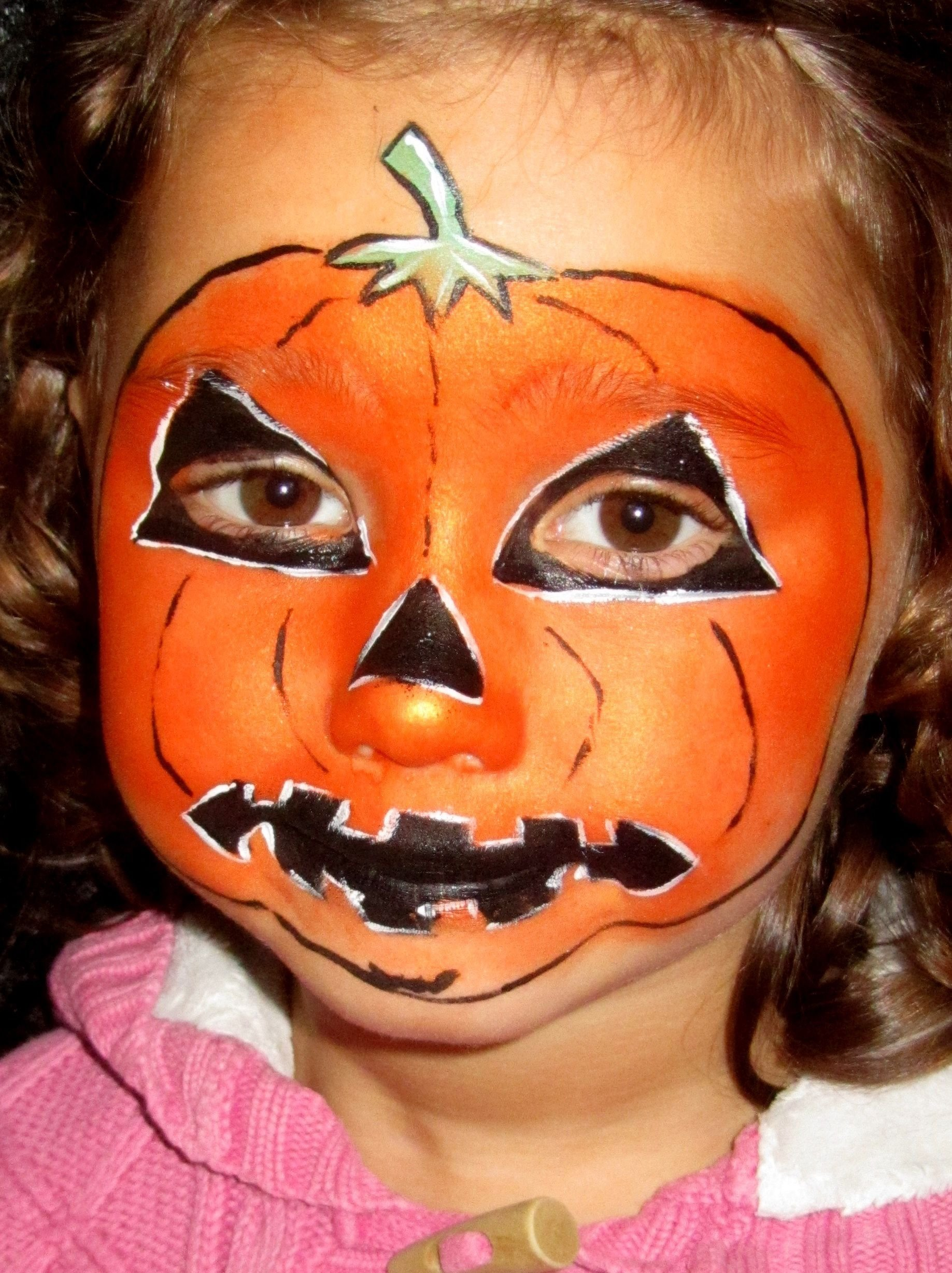 10 Amazing Simple Halloween Face Painting Ideas For Kids halloween face paint design ideas celebration halloween face 5 2020