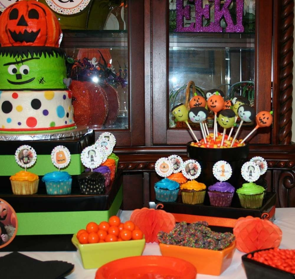 10 Attractive Halloween 1St Birthday Party Ideas halloween first birthday halloween party ideas photo 6 of 24 2020