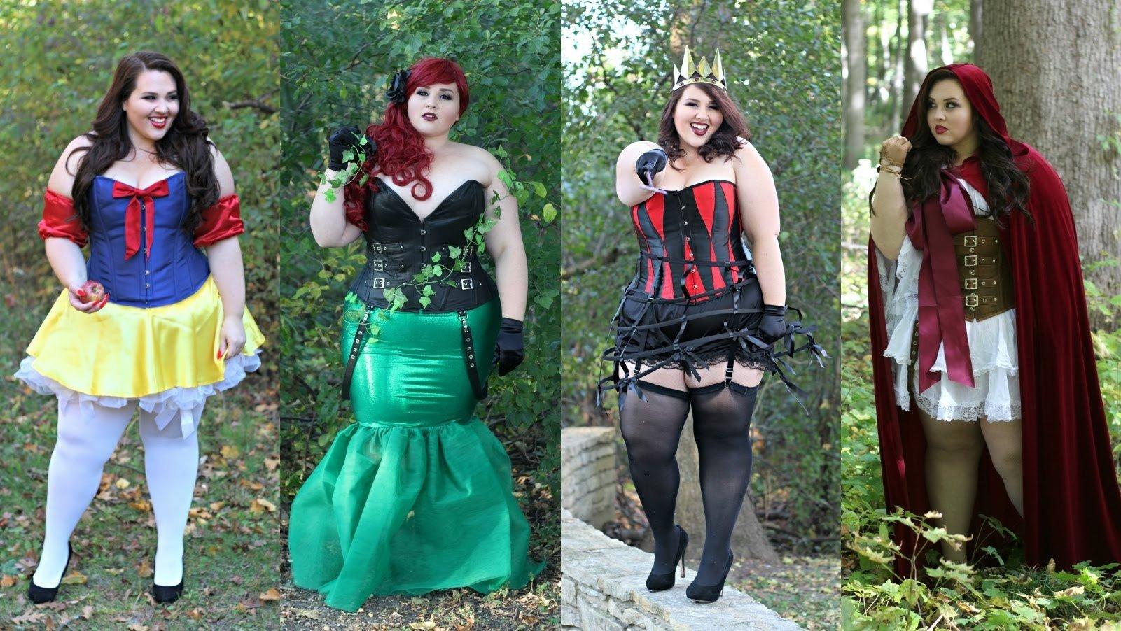10 Great Homemade Plus Size Halloween Costume Ideas halloween lookbook 2015 plus size costumes youtube 1 2021