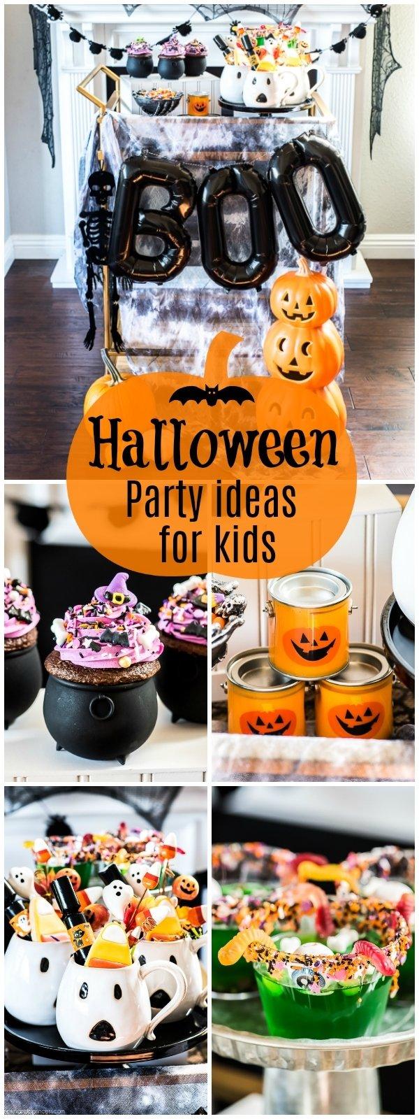 10 Trendy Halloween Birthday Party Ideas For Kids halloween party ideas kids 2021