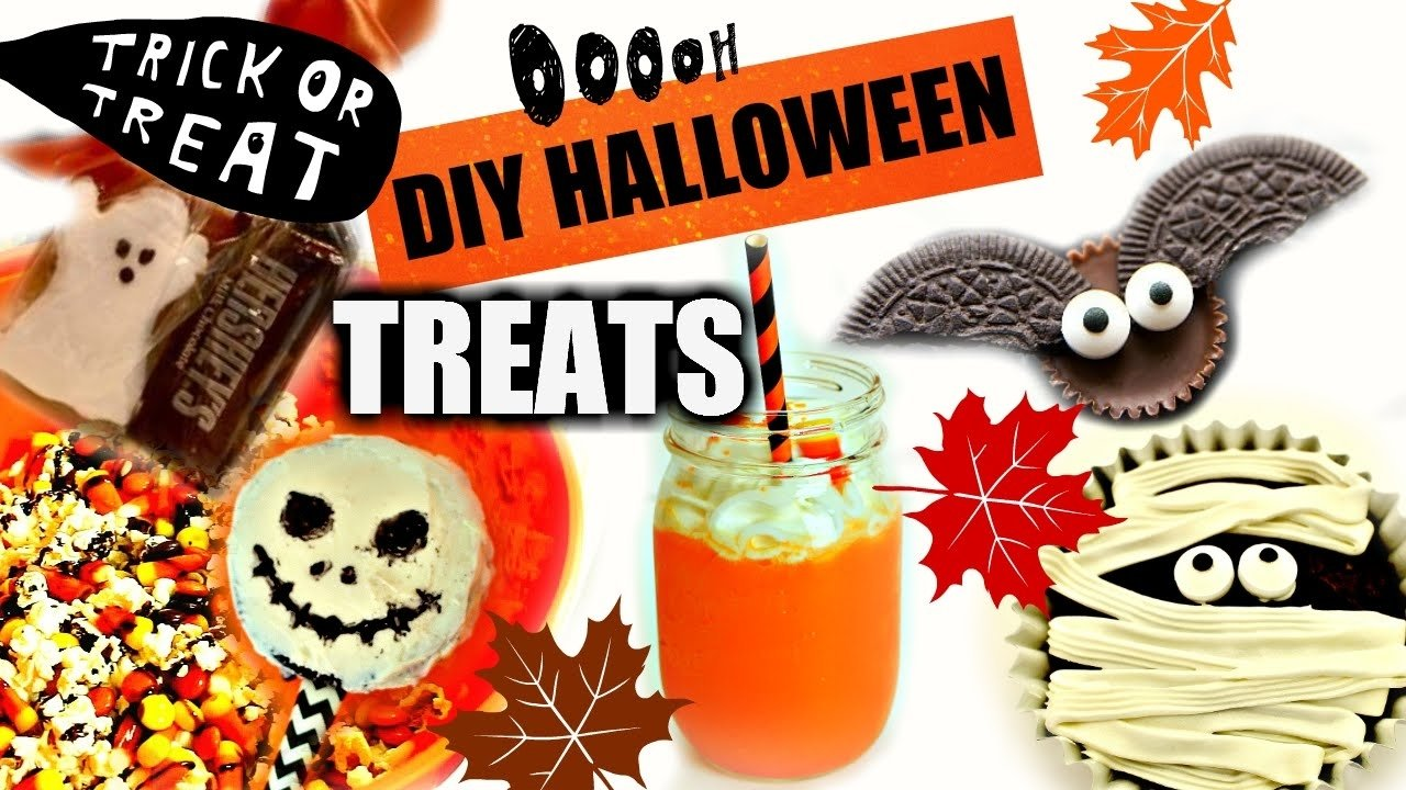 10 Attractive Halloween Trick Or Treat Ideas halloween party snacks creative trick or treats pinterest inspired 2021