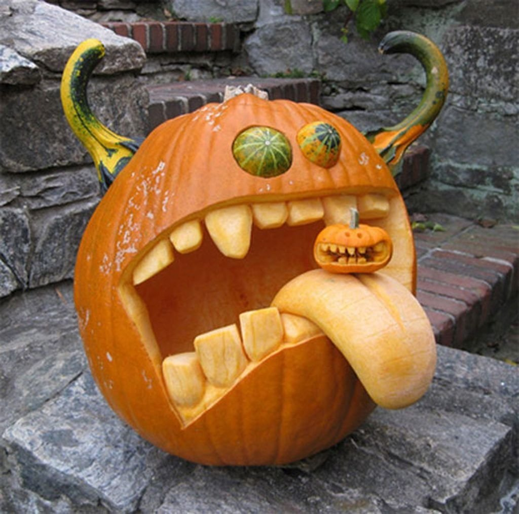 10 Great Good Ideas For Pumpkin Carving halloween pumpkin carving designs carving designs pumpkin 2021