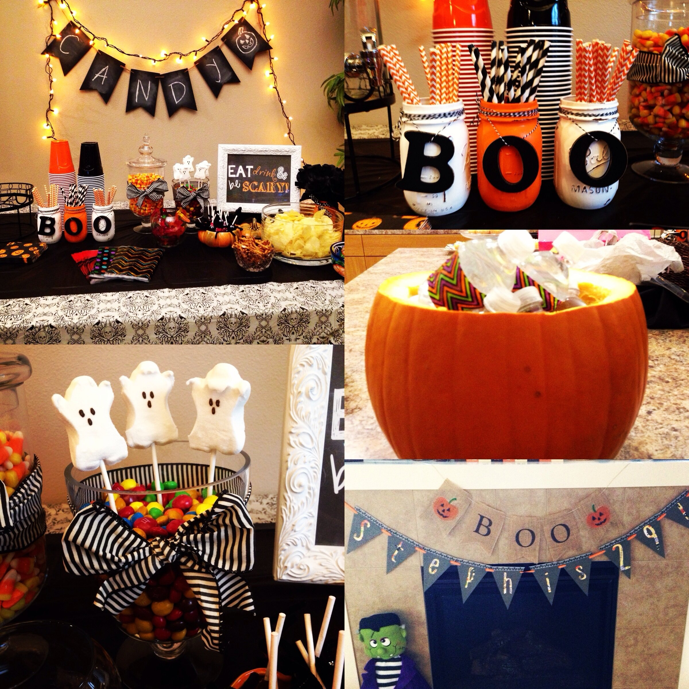 halloween themed birthday party decor | contributing to the world of