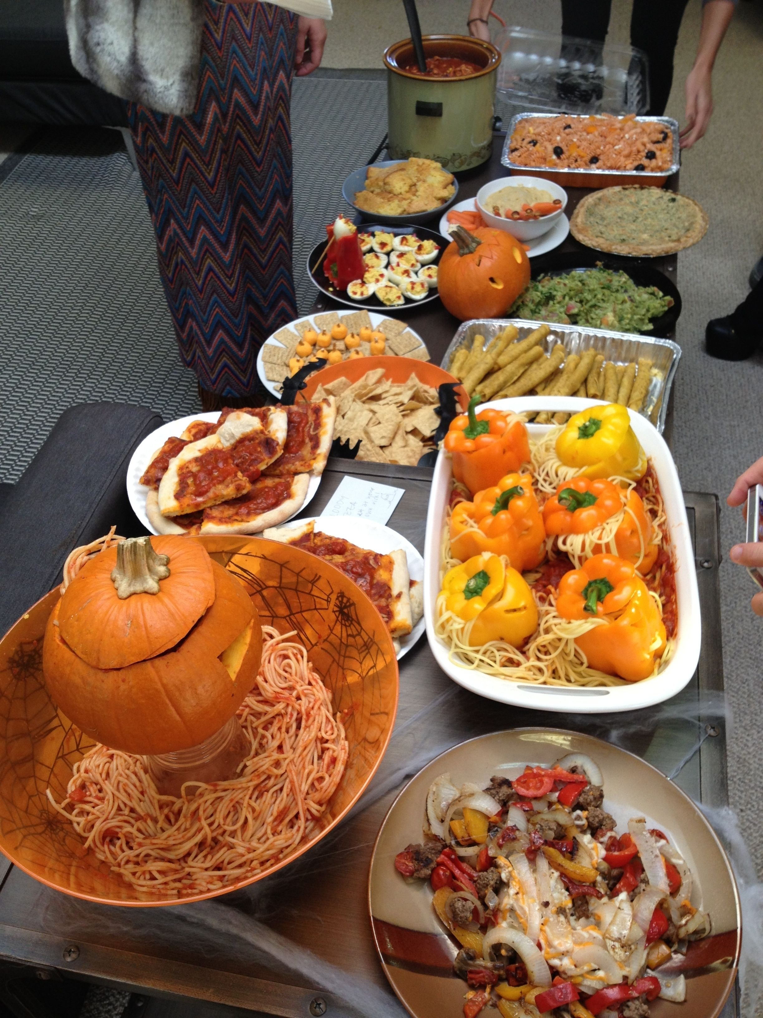 10 Most Popular Potluck Theme Ideas For Work halloween themed office potluck office potluck pinterest 2020
