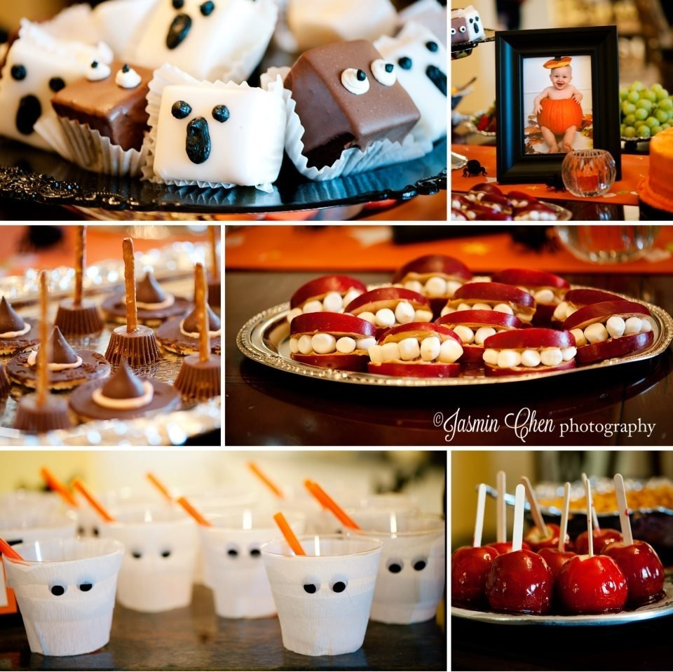 10 Attractive Halloween 1St Birthday Party Ideas halloween treats madesister for babies first birthday halloween 2020