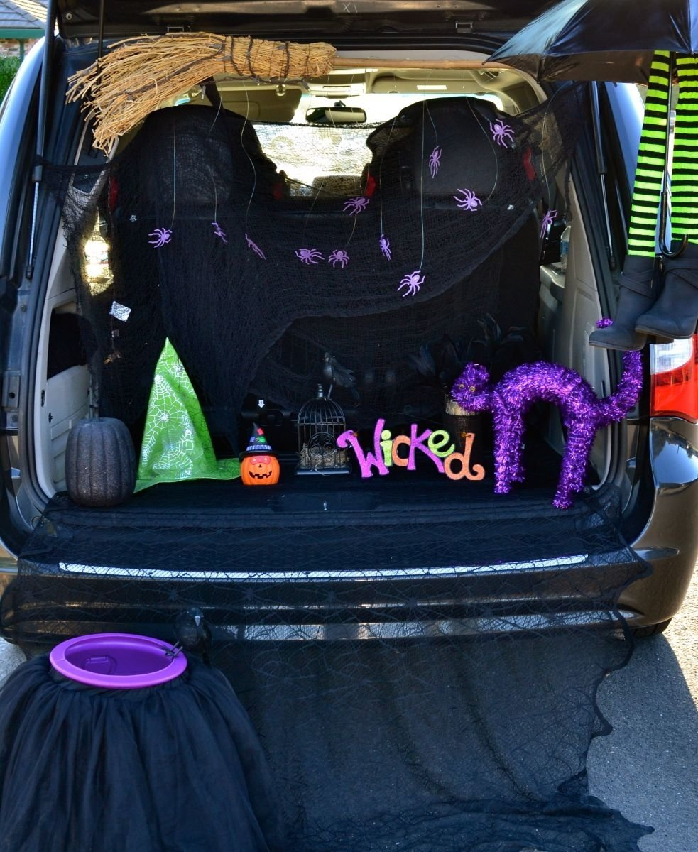 10 Fabulous Trunk Or Treat Halloween Ideas halloween trunk or treat blog hop tikkido 3 2021